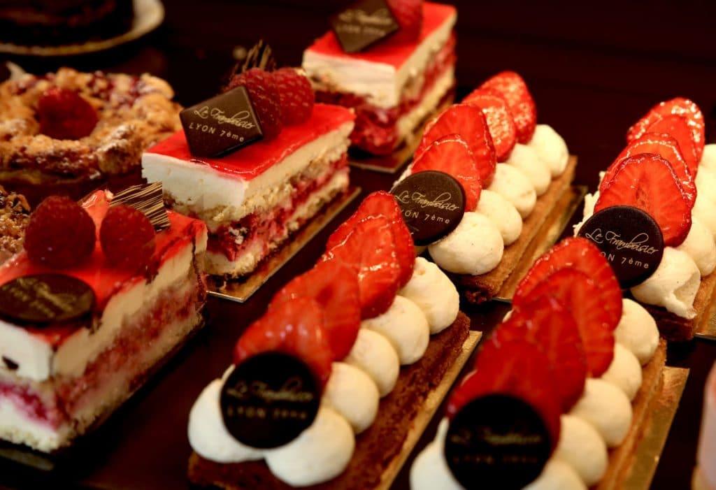 Gâteaux framboisiers